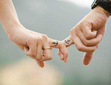 ręce para małżeństwo